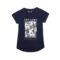 Dekliška majica, temno modra