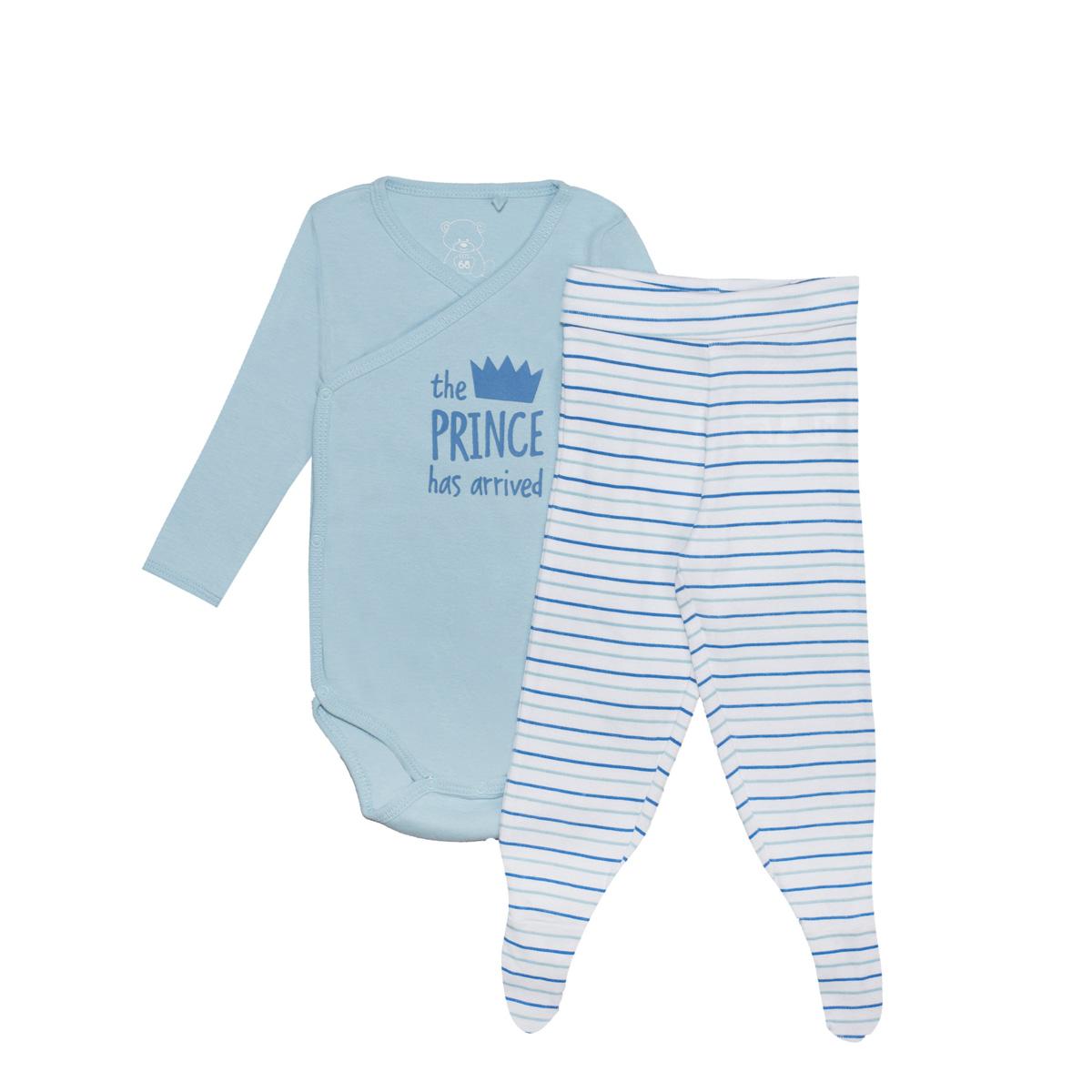 Baby komplet, svetlo modra