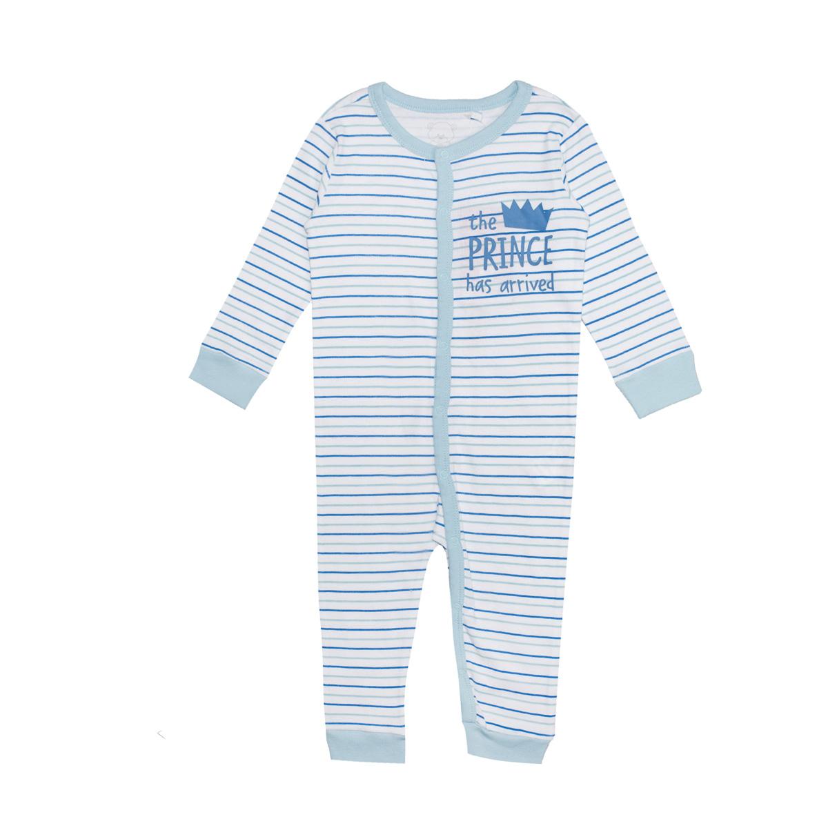 Baby kombinezon, svetlo modra