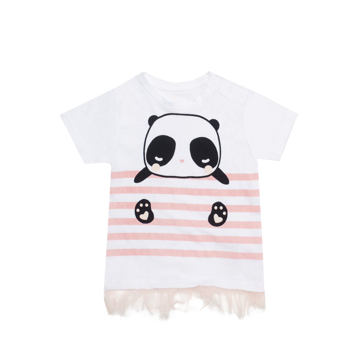 Baby majica, bela