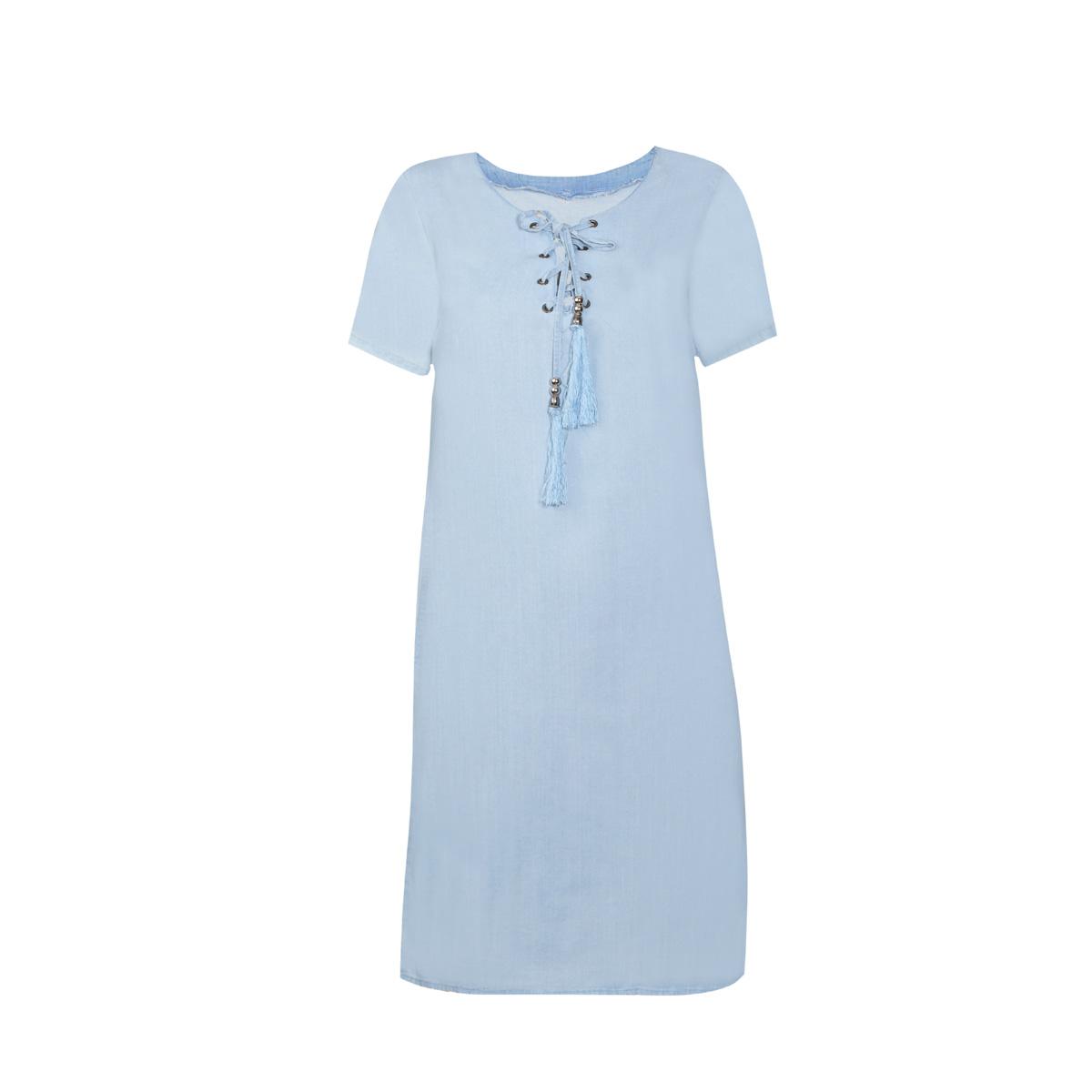 Ženska obleka, svetlo modra