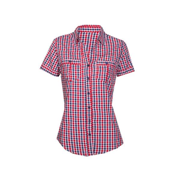 Ženska bluza, rdeča