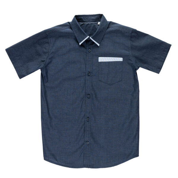 Fantovska srajca, temno modra
