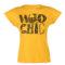 Ženska majica, temno rumena