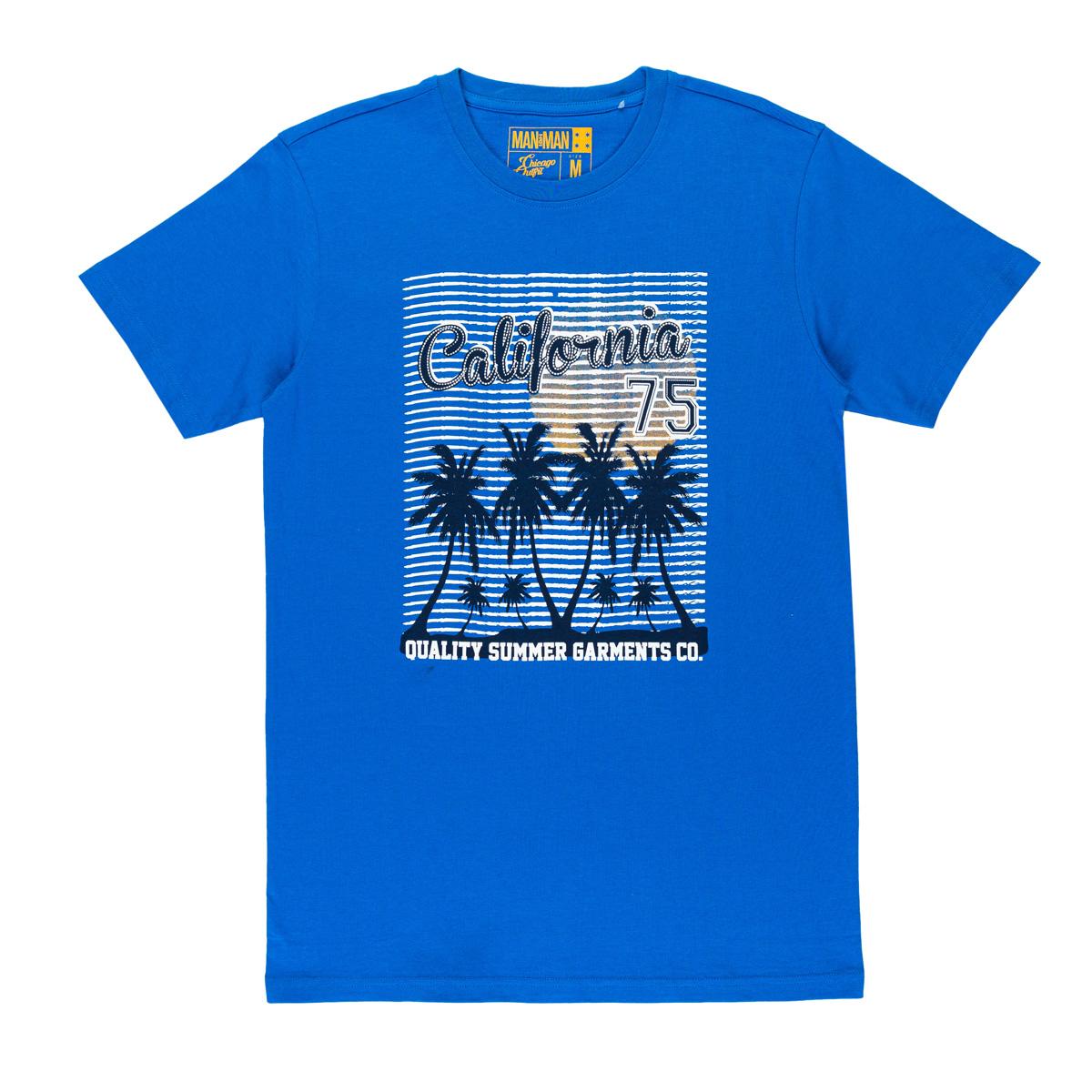 Moška majica, svetlo modra