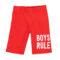 Fantovske hlače, rdeča