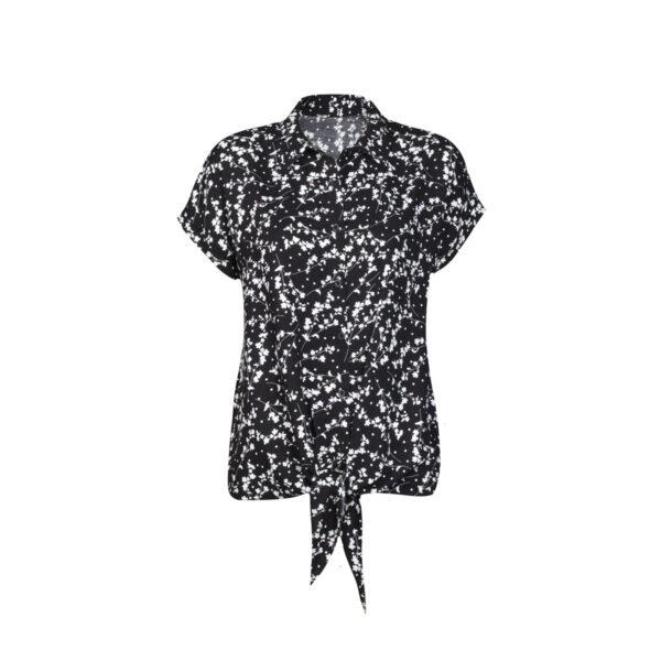 Ženska bluza, črna