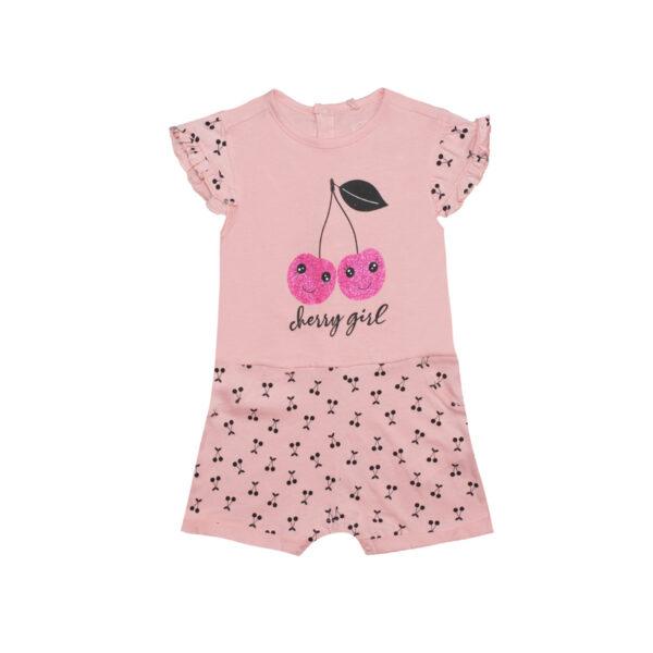 Baby kombinezon, svetlo roza
