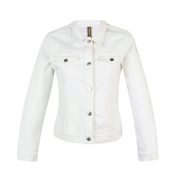 Ženska jakna, bela