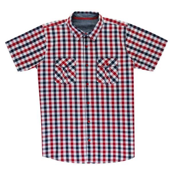 Moška srajca, rdeča
