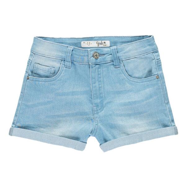 Dekliške hlače, svetlo modra
