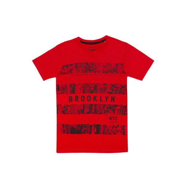 Fantovska majica, rdeča
