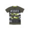 Fantovska majica, temno olivna