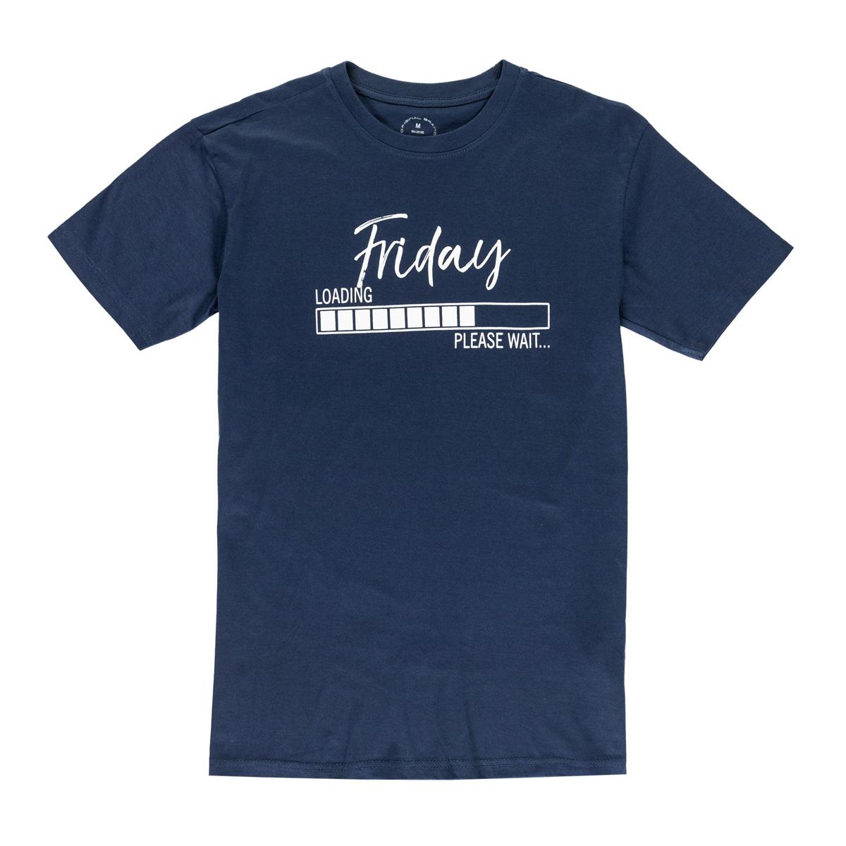 Moška majica, temno modra