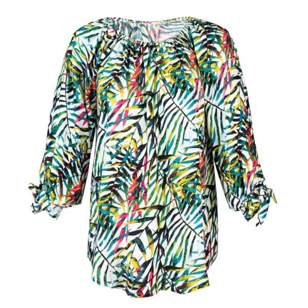Ženska bluza, turkiz