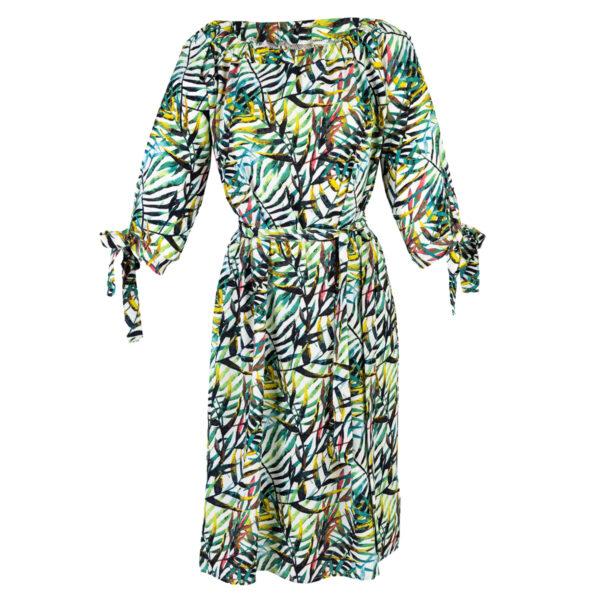 Ženska obleka, turkiz
