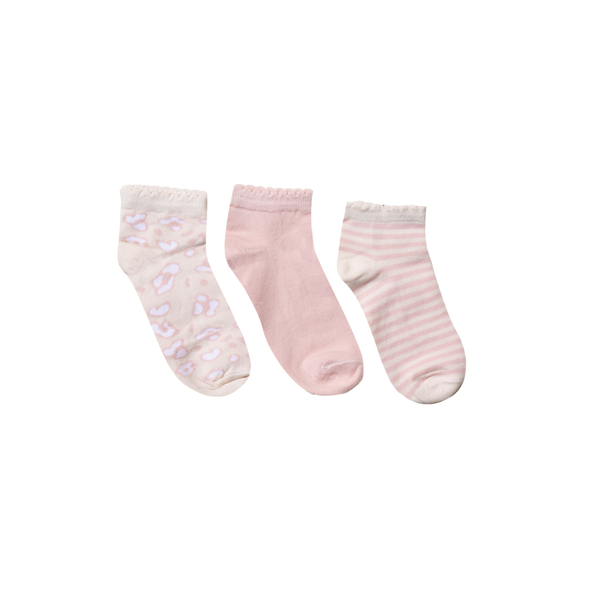 Dekliške stopalke, svetlo roza