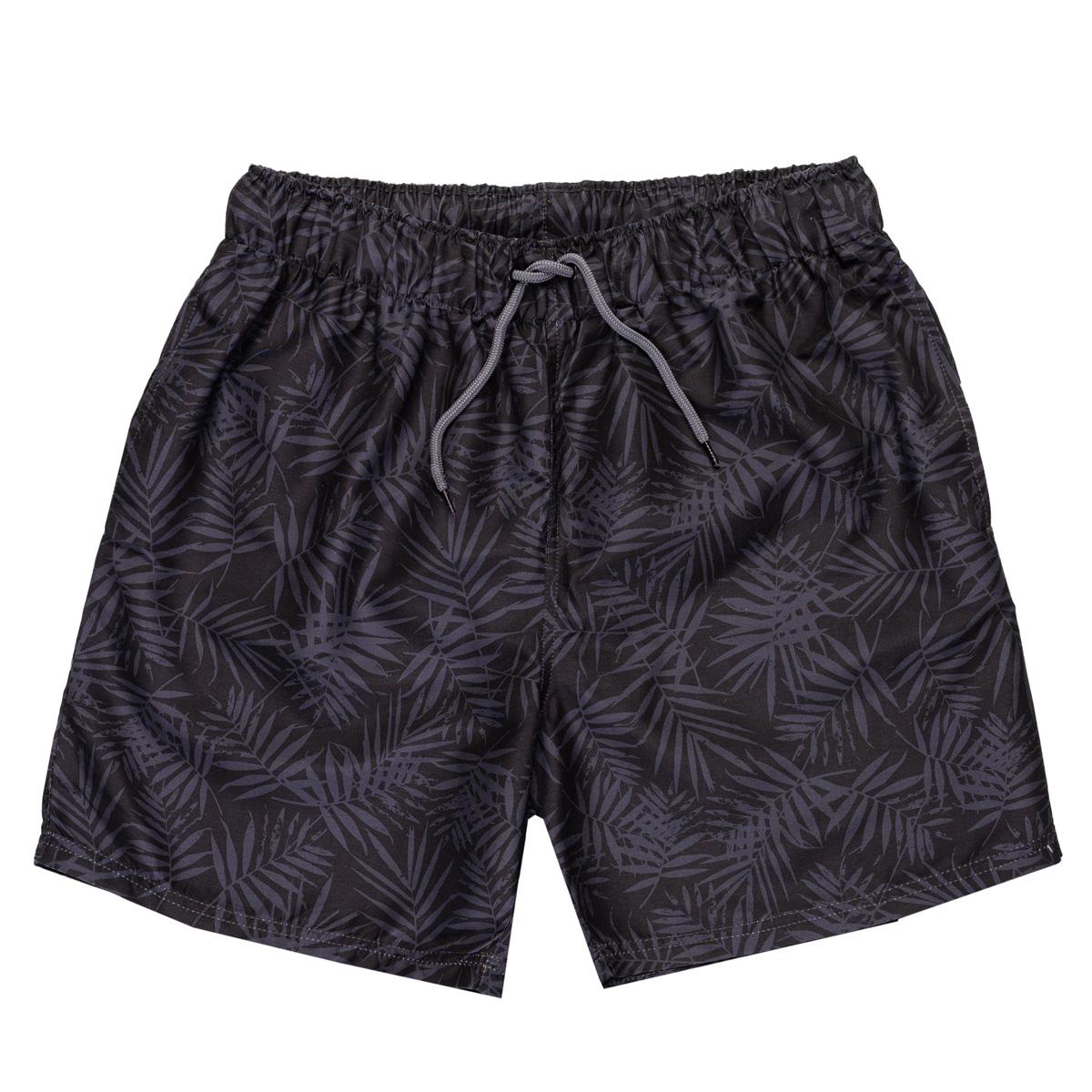 Moške kopalne hlače, črna