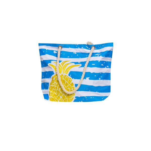 Ženska torbica, modra