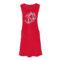 Ženska obleka, rdeča