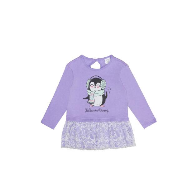 Baby tunika, svetlo vijolična