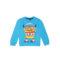 Fantovski pulover, svetlo modra