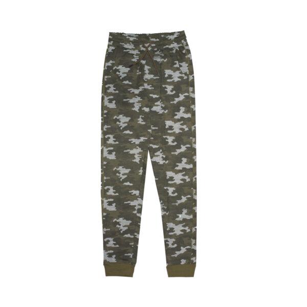 Fantovske hlače, temno olivna