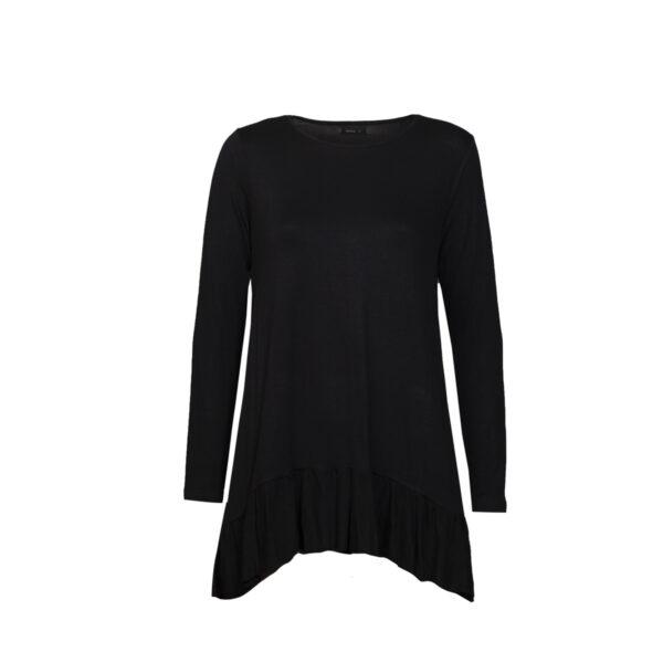 Ženska tunika, črna