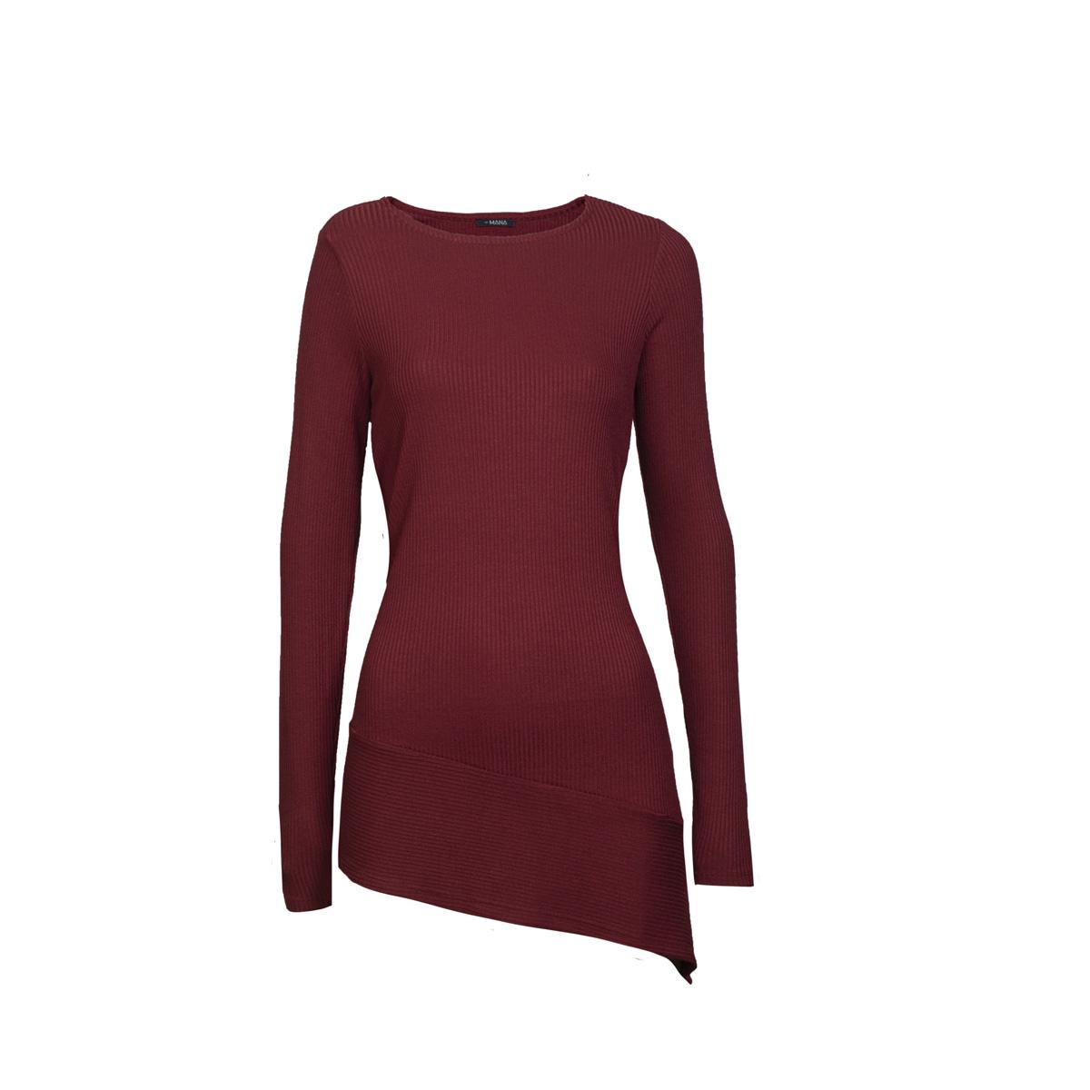 Ženska tunika, temno rdeča