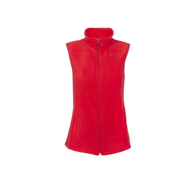 Ženski brezrokavnik, rdeča