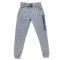 Moške hlače, melange siva