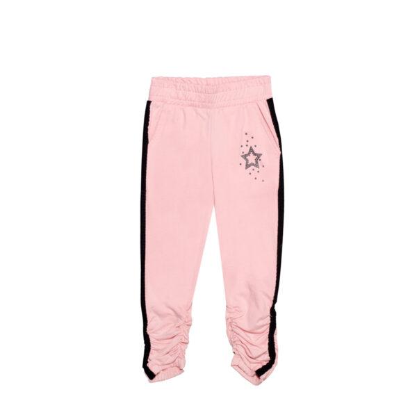 Dekliške hlače, svetlo roza