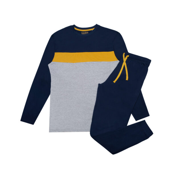 Moška pižama, temno modra