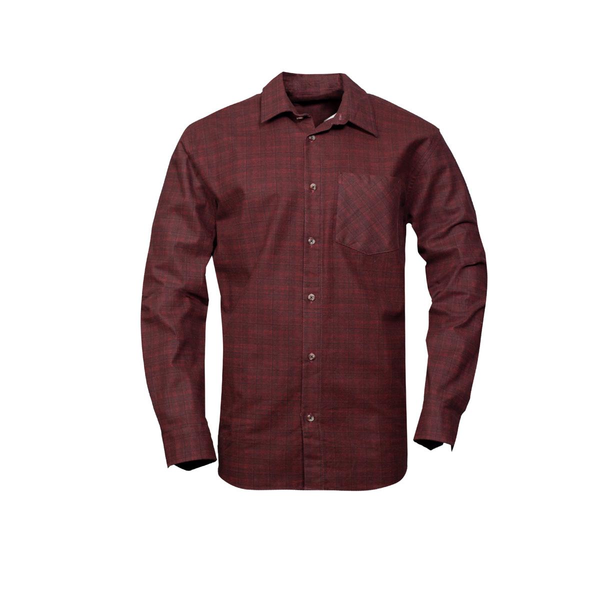 Moška srajca, temno rdeča