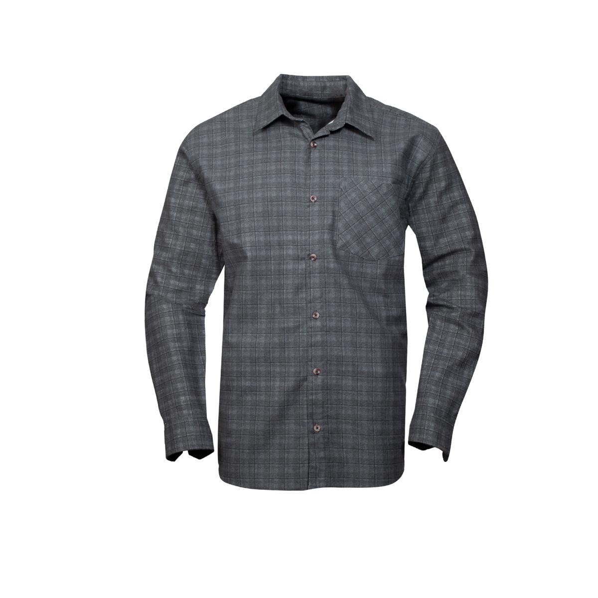 Moška srajca, temno siva