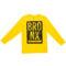 Fantovska majica, rumena