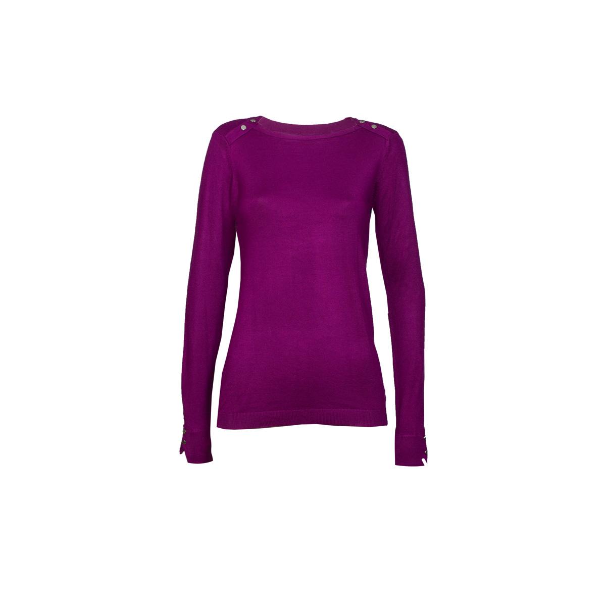 Ženski pulover, temno roza