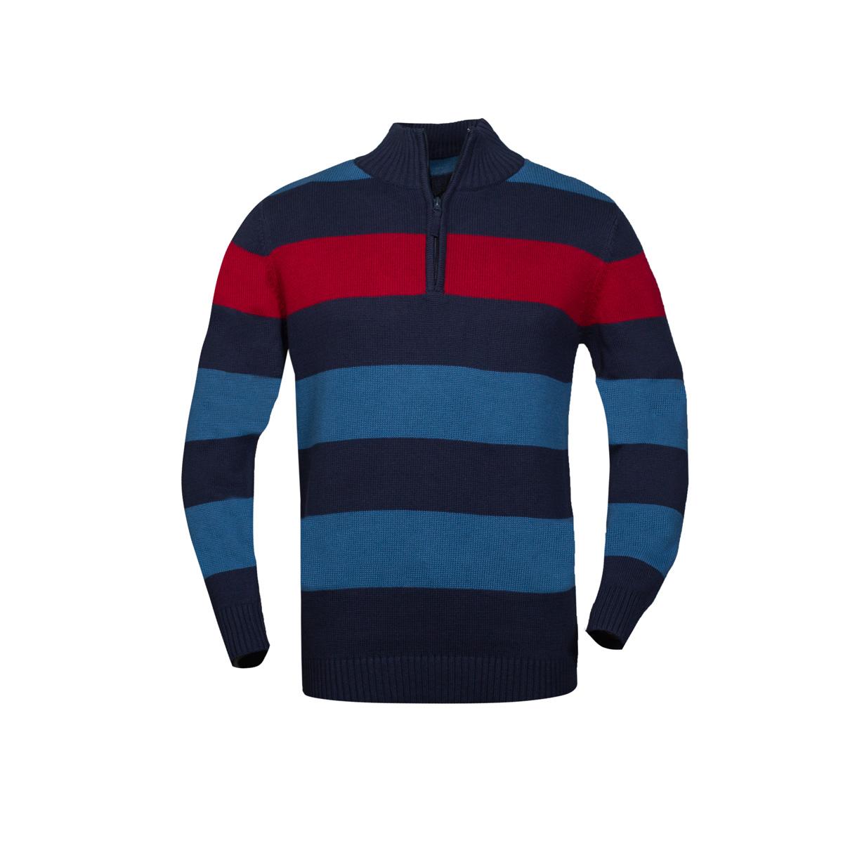 Moški pulover, temno modra