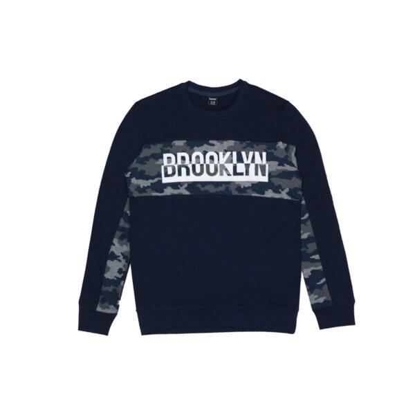 Fantovski pulover, temno modra