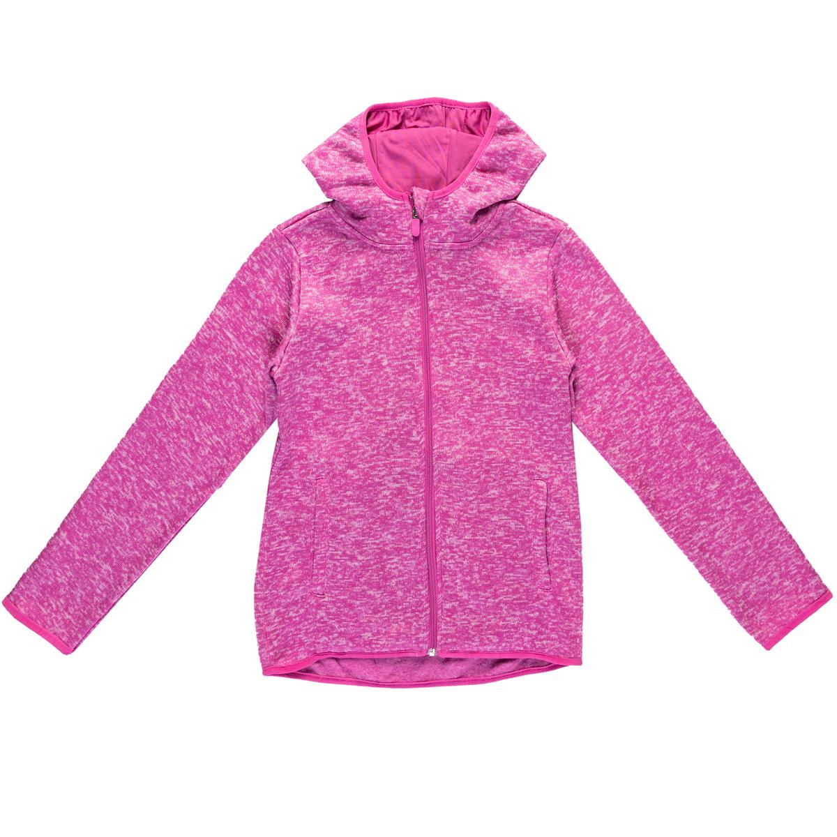 Dekliška jakna, temno roza