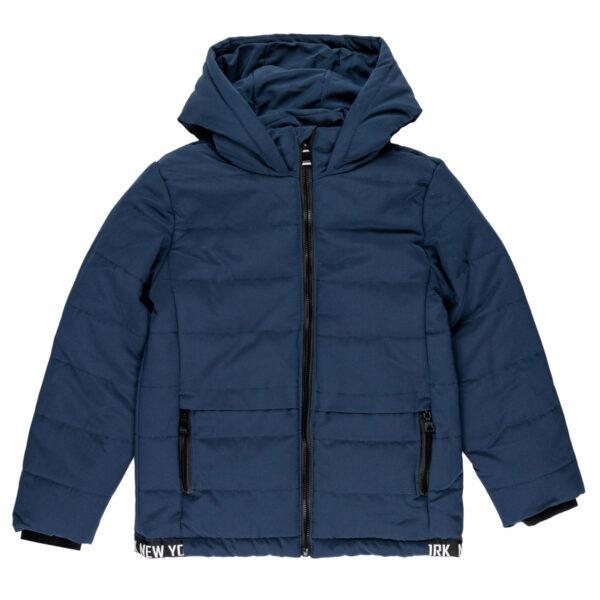 Fantovska bunda, temno modra
