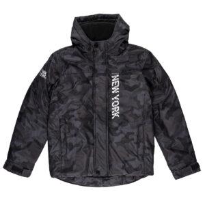 Fantovska bunda, črna