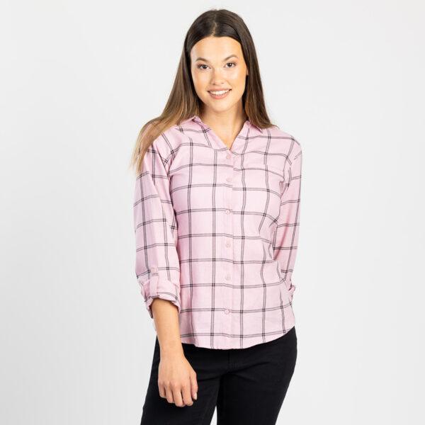 Ženska bluza, svetlo roza
