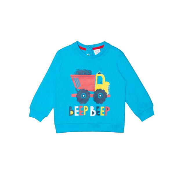 Baby pulover, svetlo modra